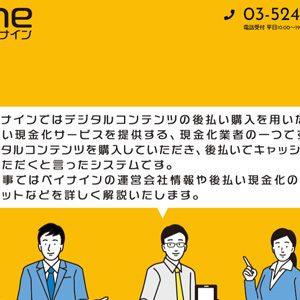 【paynine(ペイナイン) 】後払い(ツケ払い)現金化サービス利用者の口コミ&評判を徹底調査(宣伝報酬タイプ)
